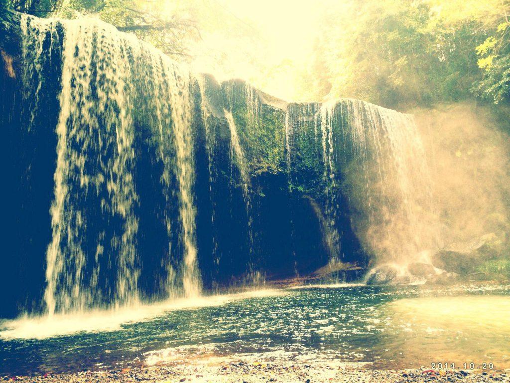 熊本県の鍋ヶ滝