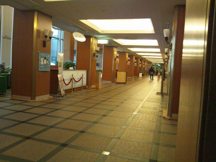 有名ホテルのキレイな施設